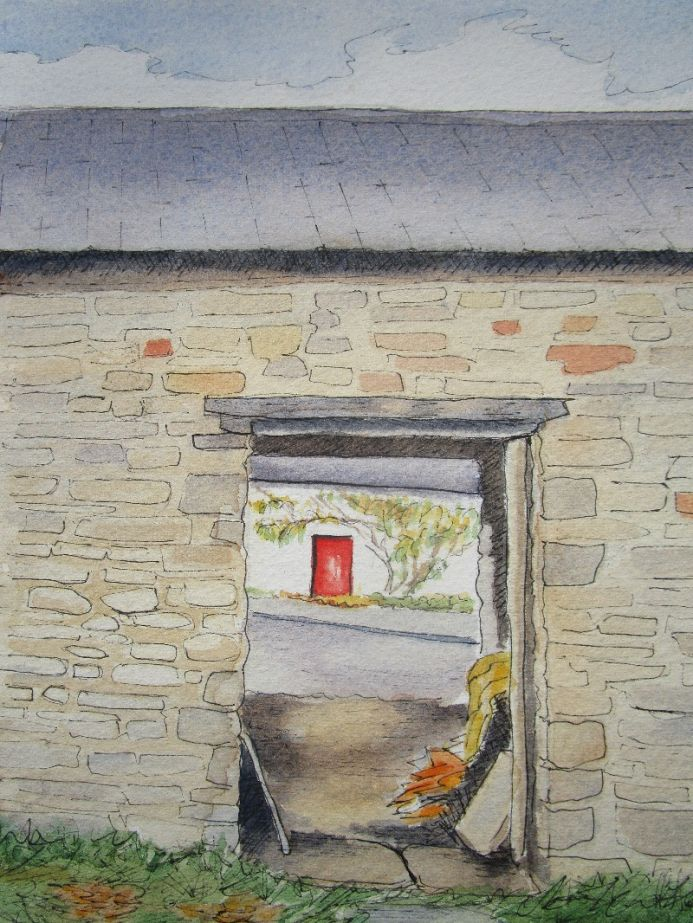 Through the Stable Door at The Old Smithy (Yr Hen Efail)