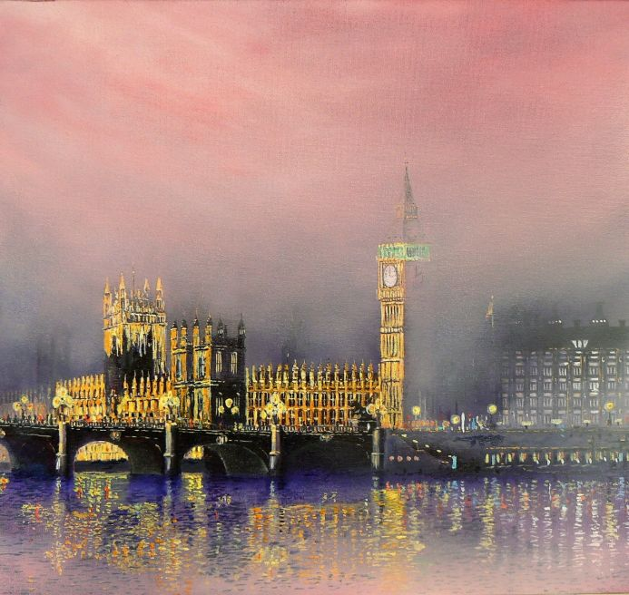 Ministerial Mist    SN 051 Limited Edition Print of 75