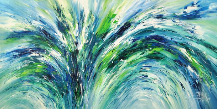 Blue And Green XXL 1