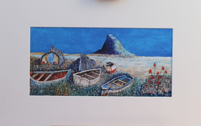 The Old Boats on Lindisfarne