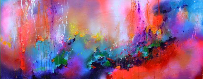 Fresh Moods 19, Large Abstract Painting