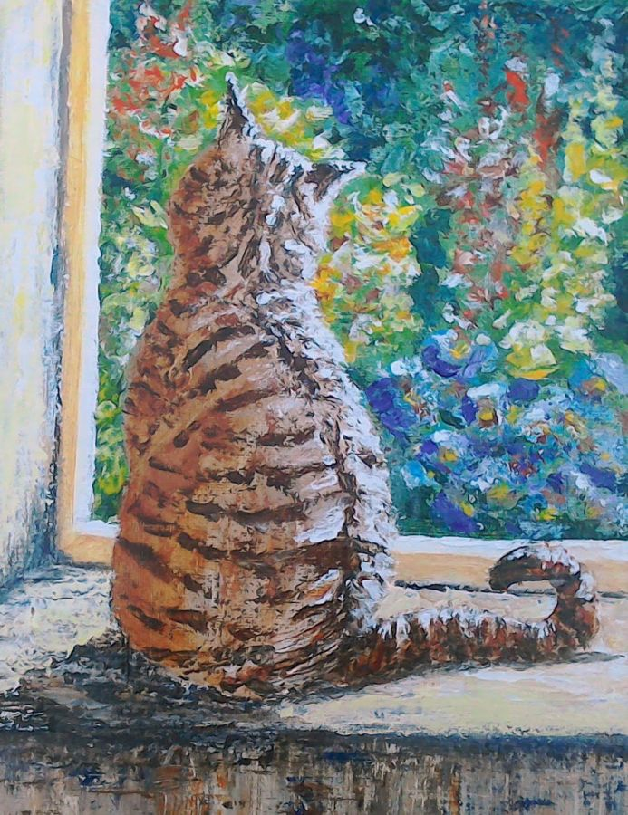 Tabby Cat - And Sometimes I Just Sit
