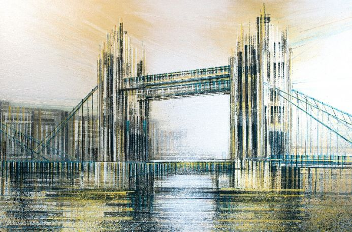 London - Tower Bridge In Neutral Colours