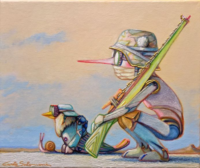 PINOCCHIO AND THE WOODEN RIFLE