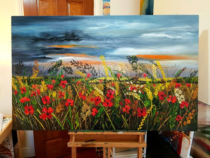 """"""" The Power of Poppies """" SOLD"""