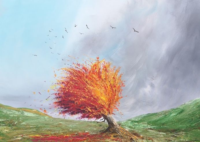 Blustery Autumn Day