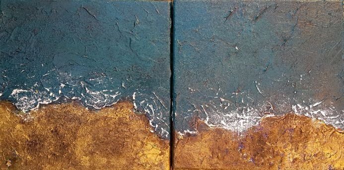 Coast to Coast Diptych