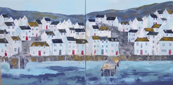 Harbour Diptych