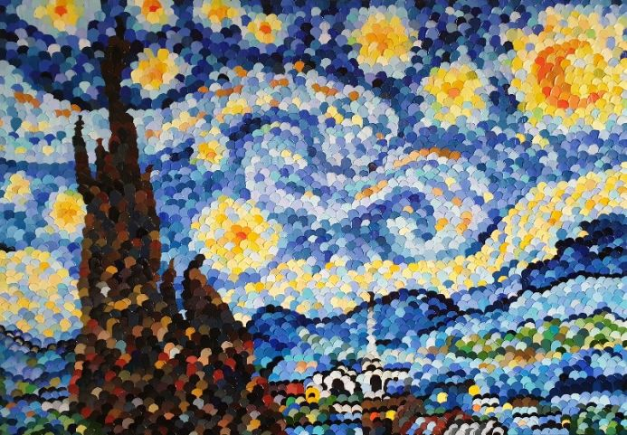 Starry Night _ Linkupism _ Game of Shadows _ Large
