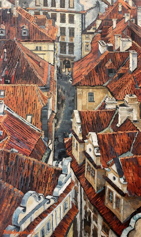 Old city rooftops #2