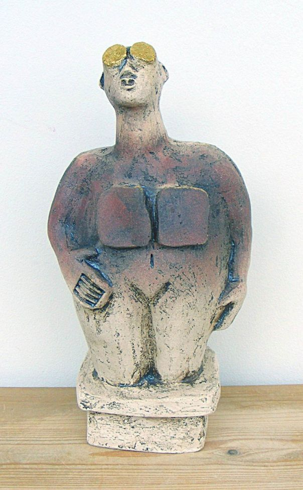 Stargazer Ceramic Sculpture