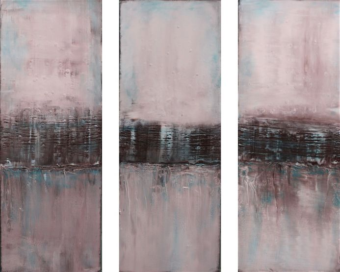 A Touch of Turquoise Triptych