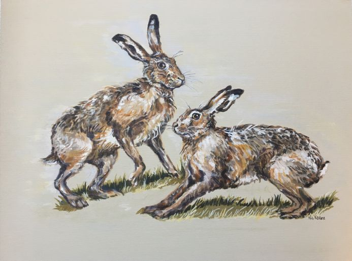 Hare Couple