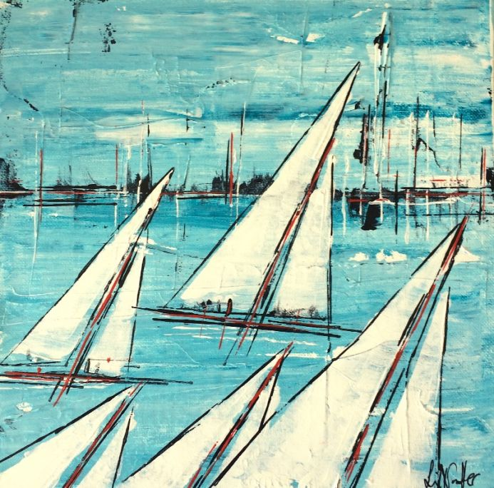 Sailing By 12x12
