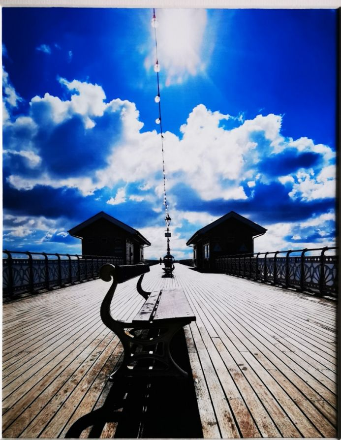 Sunny morning on the Pier