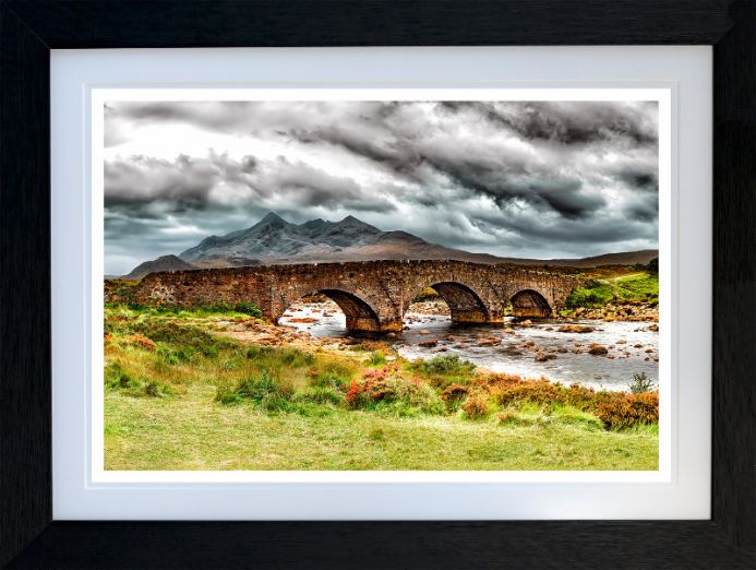 SLIGACHAN OLD BRIDGE - Isle of skye   -   Limited Edition 1 of 10   FREE WORLDWIDE SHIPPING