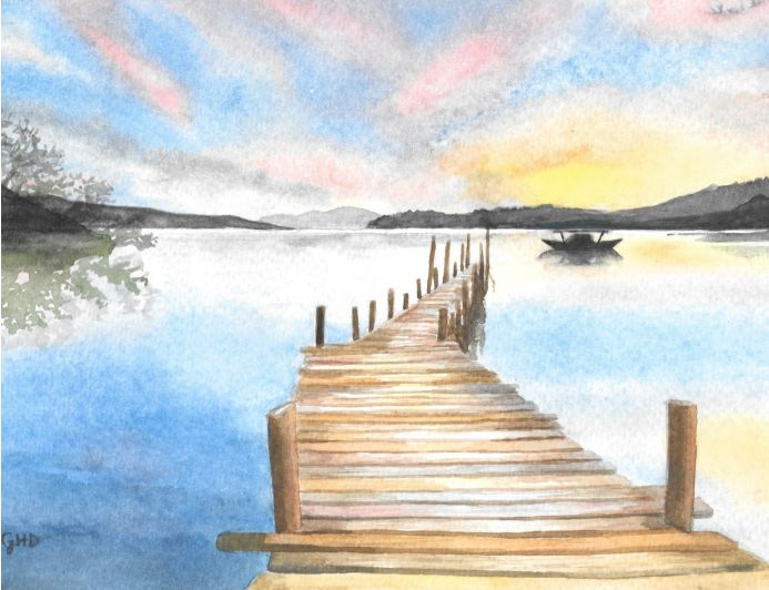 THE WOODEN JETTY