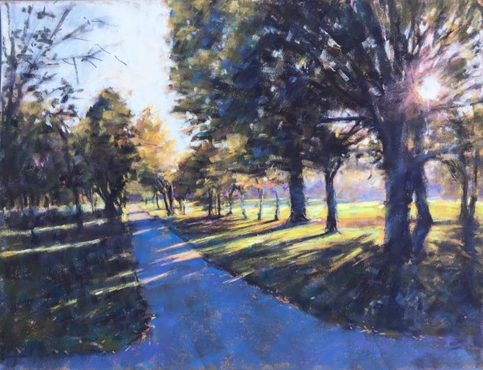 Wandsworth common painting