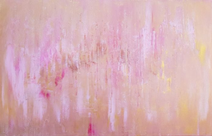 We will never forget - XL abstract painting