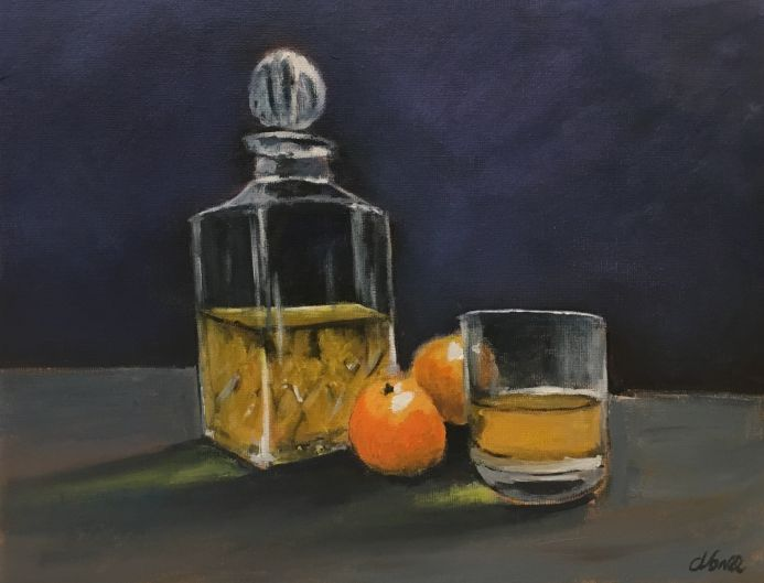 whisky and clementines