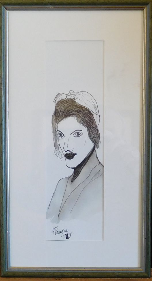 An Ink Drawing  (FRAMED)