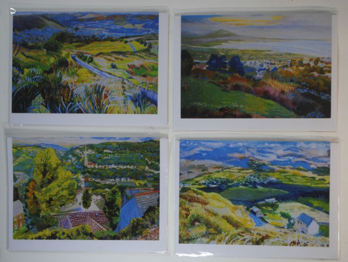 Gower and Swansea area greeting cards from original paintings.