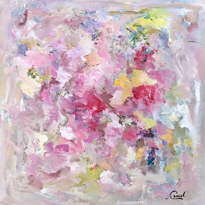 Ethereal Beauty - small square oil painting