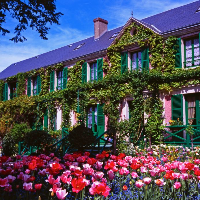 Claude Monet's House at Giverny