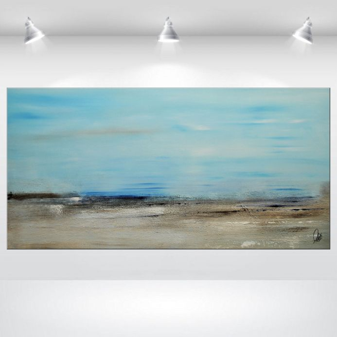 Departure - Acrylic Painting - Abstract Art Painting Canvas Art Wall Art Ready to hang