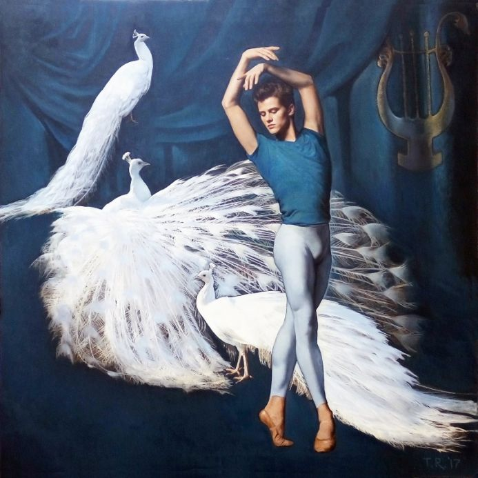 DANCING WITH WHITE PEACOCKS