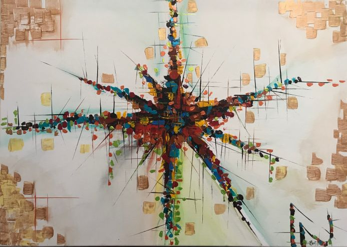 Speed  Abstract Painting 225