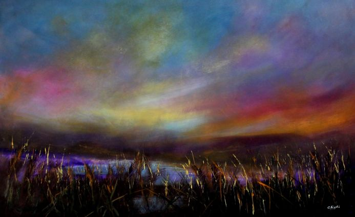 Far Horizons #1 - Large original landscape painting