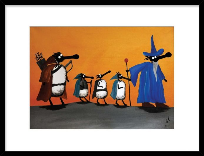 Fellowsheep Of The Ring (Limited Edition Print)