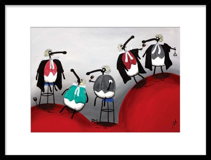 Members Of The Baa (Limited Edition Print)