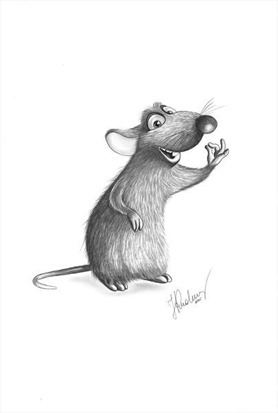 Remy From Ratatouille By Joanna Kleger Rudomino Artgallery Co Uk