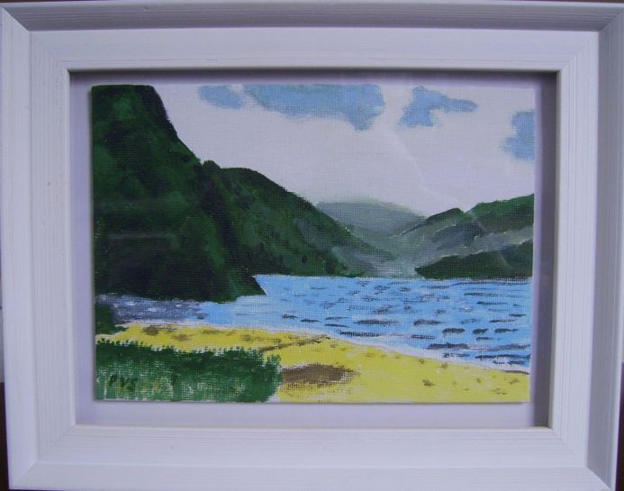 Six miniature  paintings of Ireland No.6