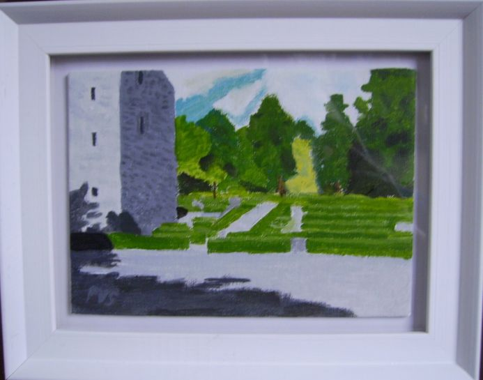 Six miniature paintings of Ireland No.3