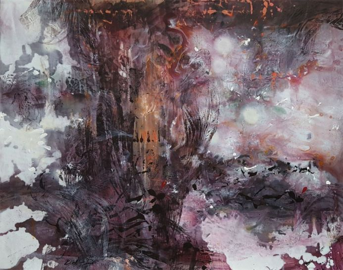 JUST A SUBLIME WAY TO PAINT A TREE ONEIRIC ART BY O KLOSKA SERENITY AND MELANCHOLIA