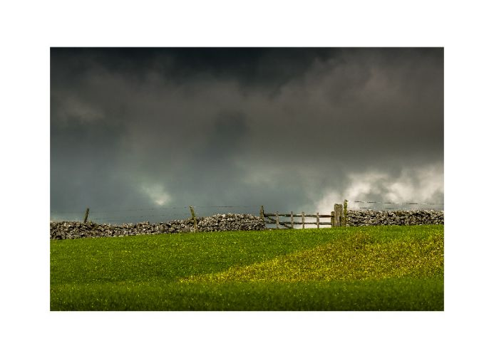 The gate for a passing storm