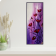 Abstract Poppies on an Elongated Canvas