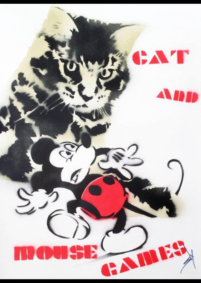 Cat and Mouse Games (on plain paper)