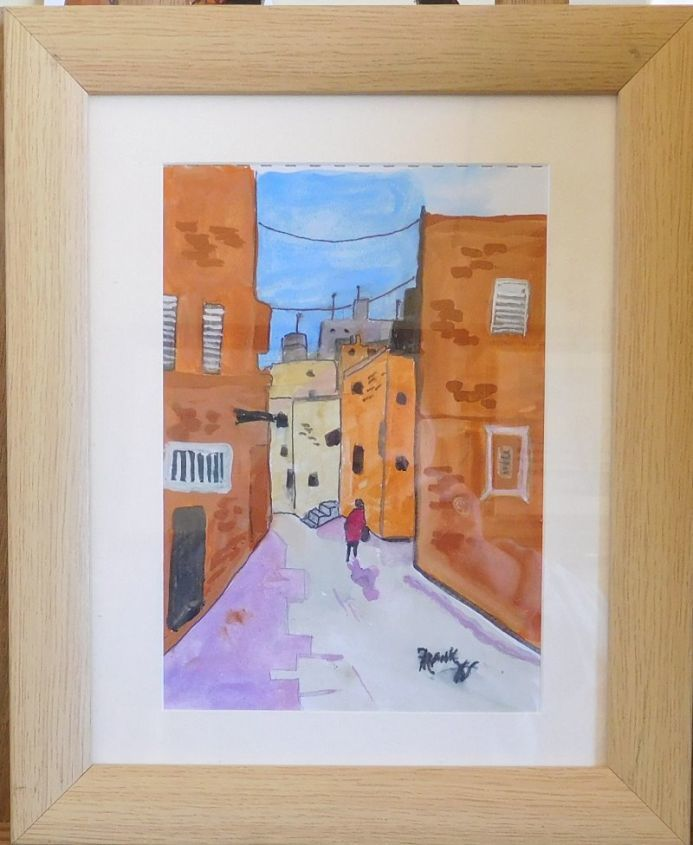 In The Back Streets Of Italy  {FRAMED}