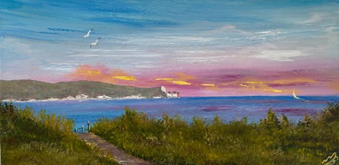 Isle of Wight on a Panoramic Canvas