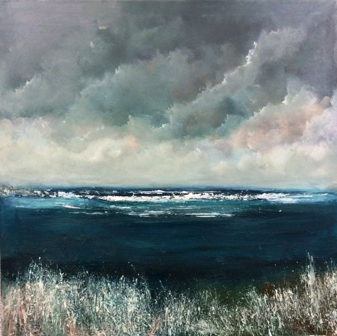 Anywhere The Wind Blows Seascape On Canvas
