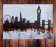 London night skyline abstract painting 114
