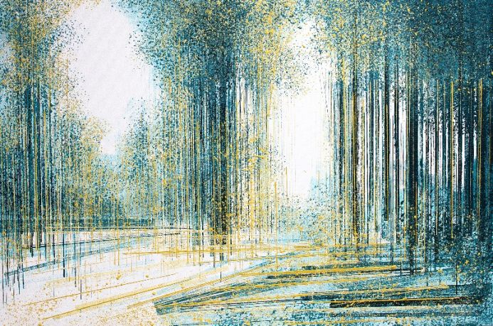 Forest Clearing In Morning Light
