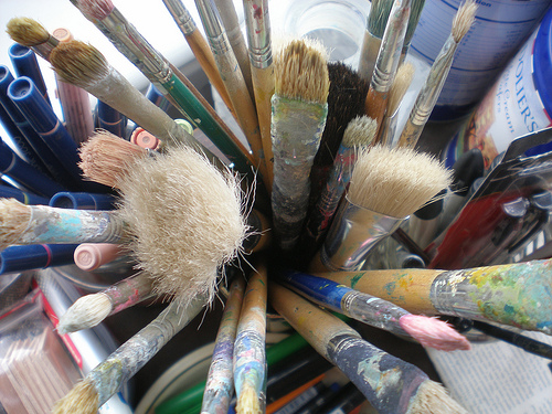 Artistic inspiration - paintbrushes