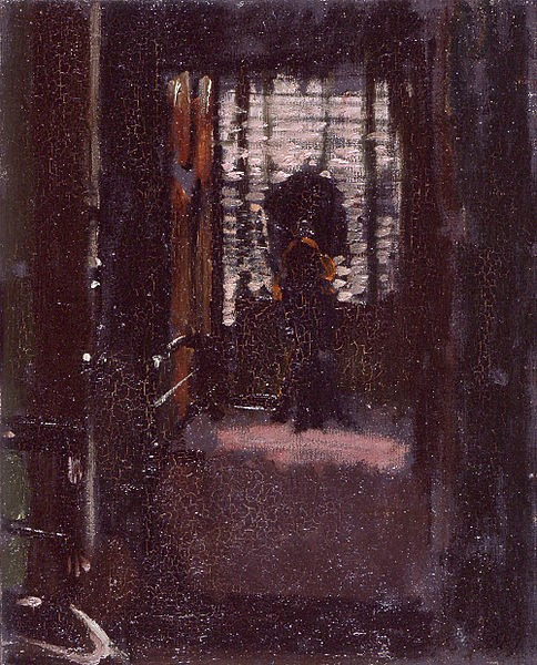 'Jack the Ripper's Bedroom' by Walter Richard Sickert