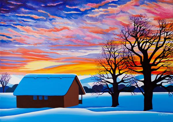 Beautiful Winter Paintings to Bring Warmth to Your Home